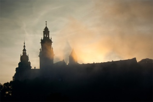 Katedra na Wawelu o poranku