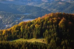 Październik w Pieninach