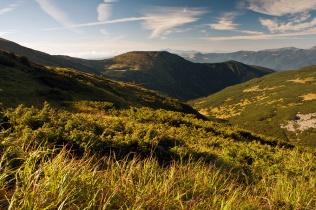 Poranek w Czarnohorze