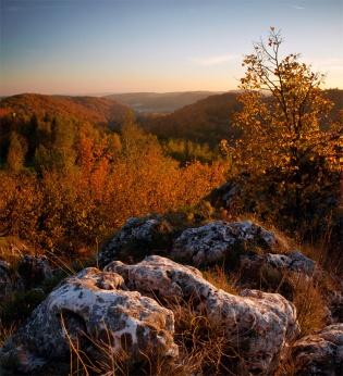 Dolina Szklarki w złotej szacie