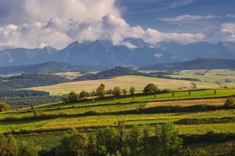 Widok z Przełęczy Knurowskiej