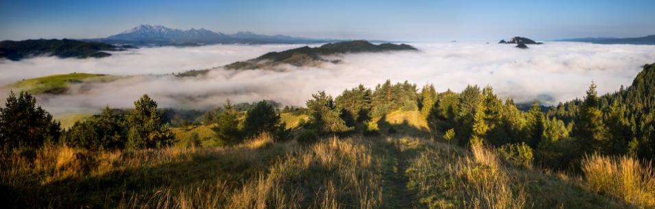 Panorama z Wysokiego Wierchu